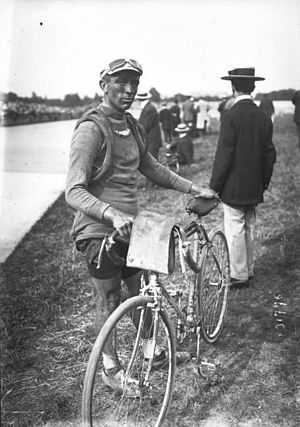 Paul Deman - Deman at the 1913 Tour de France