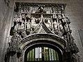 301 Catedral d'Oviedo, antiga porta del cor, accés a la Cambra Santa des del transsepte sud.jpg