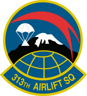 313th Airlift Squadron - Image: 313th Airlift Squadron