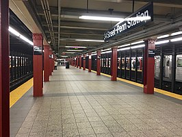 34th Street – Penn Station (IND Eighth Avenue Line)