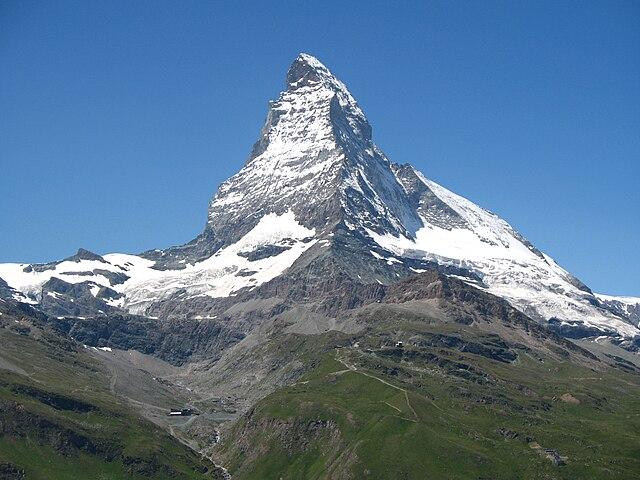 El Cerro Matterhorn un día despejado. Fuente: Wikipediaº