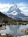3957 - Gornergrat - Matterhorn and Riffelsee.JPG
