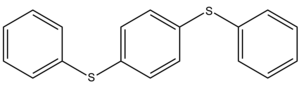 Polyphenyl ether - Figure 5: Structure of 3R2TE Polyphenyl Thioether