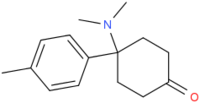 4-(4-methylphenyl)-4-(dimethylamino)cyclohexan-1-one.png