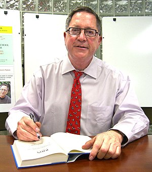 David L. Kirp - Kirp at an April 14, 2011 signing for Kids First at Union City High School in New Jersey