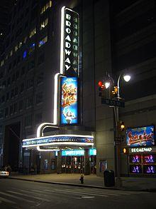 Broadway Theatre 53rd Street Wikipedia