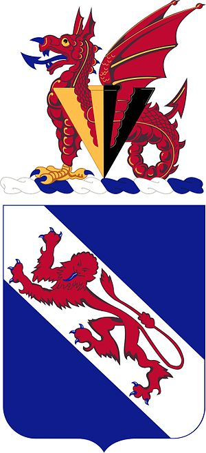 508th Infantry Regiment (United States) - 508th Infantry Regiment coat of arms.