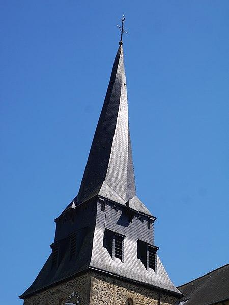 Le clocher tors.