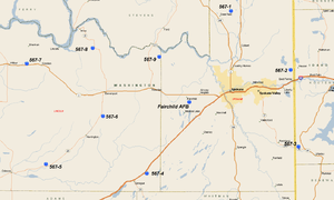 567th Strategic Missile Squadron - SM-65E Atlas Missile Sites