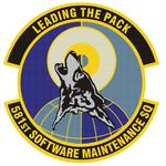 581 Software Maintenance Sq emblem.png