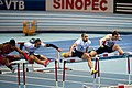 60m hurdles men final Sopot 2014.jpg