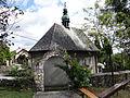 615932 pow. krakowski gm. Liszki Czolow zespol kaplicy MB ogrodzenie 03.JPG
