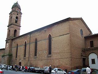 San Niccolò al Carmine, Siena church in Siena, Tuscany, Italy