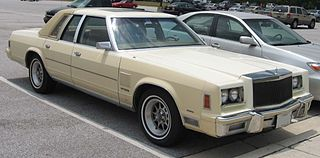 Chrysler R platform platform for full-size cars