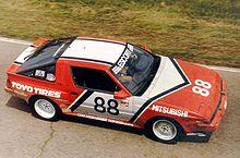 mitsubishi starion 1987 escort endurance series championship winning team mitsubishi starion esi r