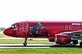 9M-AFC A320-214 Air Asia 3 (MUFC logojet left side fwd) MAN 05APR06 (5821838931).jpg