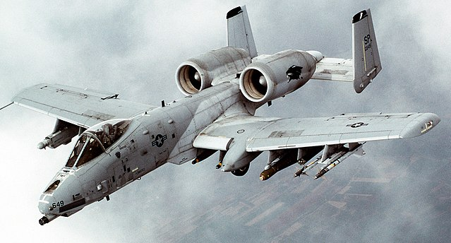 One of my favorite airplanes - The A-10 Warthog (Thunderbolt II)