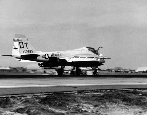 A-6A Intruder VMA(AW)-242 at Da Nang c1967