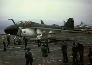 George Thomas Coker - VA-65 A-6A on USS Constellation in 1966