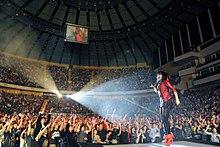 A-Mei World Tour in Taipei Arena 20100319.jpg