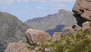 A' Mhaighdean - View of A' Mhaighdean from Slioch