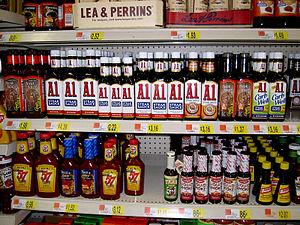 A.1. Sauce - A.1. Sauce at a Wal-Mart store