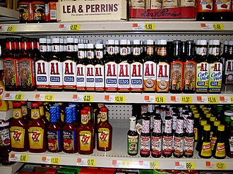A.1. Sauce - A.1. Sauce at a Wal-Mart store