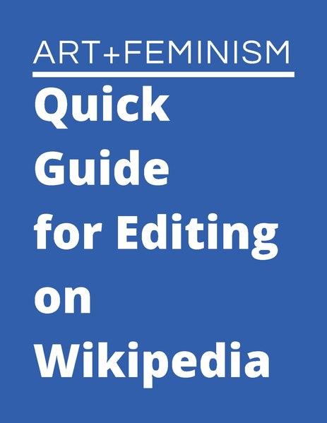 File:AFQuickGuideforEditingWikipedia January2020.pdf