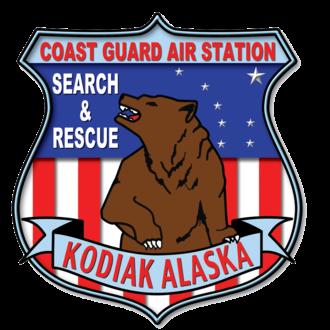 Coast Guard Air Station Kodiak - Unit Patch CGAS Kodiak