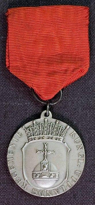 Uppland Regiment - Image: AM.088300