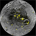 A Mosaic of MESSENGER Images of Mercury's North Polar Region.jpg