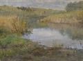 A River in France. Study (Ida von Schulzenheim) - Nationalmuseum - 20956.tif