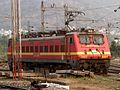 A Santragacchi based WAP4 Locomotive (22826) at Visakhapatnam Trip shed.jpg