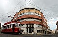 A classical tram of the streets of Lisbon, Portugal, Southwestern Europe-2.jpg