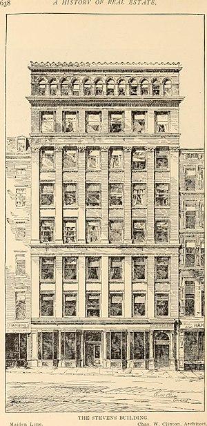 Charles W. Clinton - Stevens Building