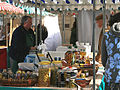 A stall at Kelso Farmers Market - geograph.org.uk - 1465764.jpg