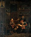 A surgeon treating a man's foot. Oil painting after a compos Wellcome V0017541.jpg