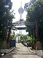 A view of KL Tower from one of the entrance to KL Forest Eco Park.jpg