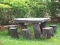 A wooden Garden Seat - panoramio.jpg