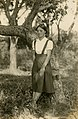 A young lady in jumper at Taoyuan 1950s.jpg