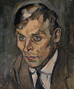 Aalto, Ilmari - Portrait of artist Väinö Kamppuri - Google Art Project