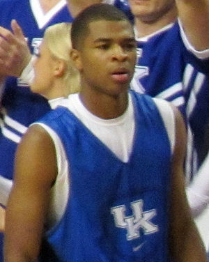 Aaron Harrison - Harrison in Kentucky's 2013 Blue-White scrimmage