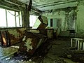 Abandoned Schoolhouse - Pripyat Ghost Town - Chernobyl Exclusion Zone - Northern Ukraine - 01 (27098250555).jpg