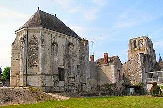 Cormery - The abbey in Cormery