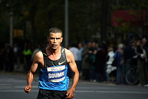 Abderrahim Goumri - Goumri at the 2008 New York City Marathon