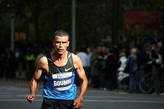 Abderrahim Goumri - Goumri at the 2008 New York City Marathon