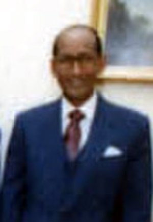 Abdullahi Ahmed Addow - Addow in 1986