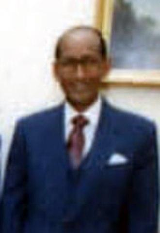 Abdullahi Ahmed Addow - Addow in 1986