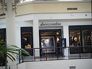 Abercrombie kids - The abercrombie kids store at the Willow Grove Park Mall in Willow Grove, Pennsylvania, which closed in 2016