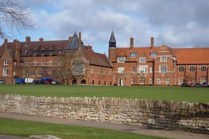 Thom Yorke - Abingdon School, Oxfordshire, where Yorke formed Radiohead with classmates